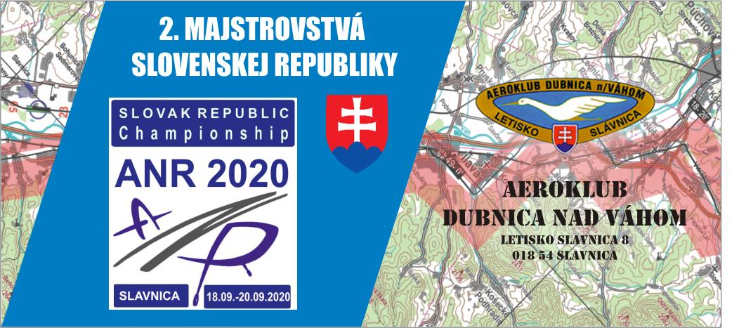 2. MAJSTROVSTVÁ SLOVENSKEJ REPUBLIKY V AIR NAVIGATION RACE (ANR) 2020